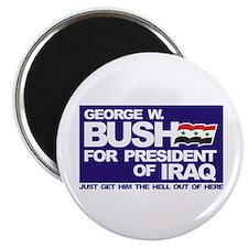 Bush for President of Iraq Magnet (100 pk)