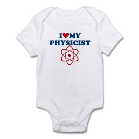 PHYSICS T-SHIRT atomic,atoms, Infant Bodysuit