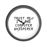 About computer computer whisper on the Wall Clocks