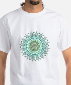 Evergreen Mandala Pattern T-Shirt