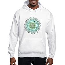 Evergreen Mandala Pattern Jumper Hoody