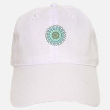 Evergreen Mandala Pattern Cap