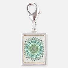 Evergreen Mandala Pattern Charms