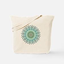 Evergreen Mandala Pattern Tote Bag