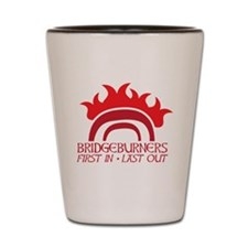 BRIDGEBURNERS army sigil 1 Shot Glass