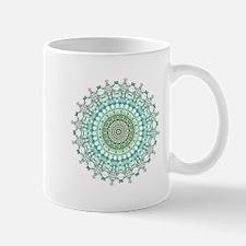 Evergreen Mandala Pattern Mugs