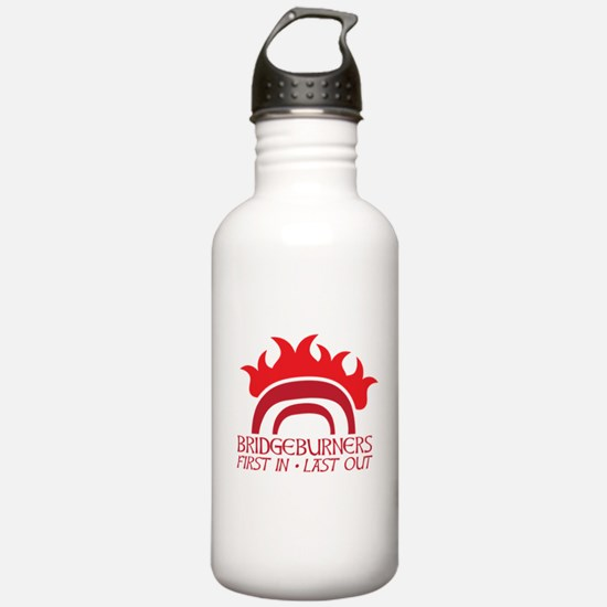 BRIDGEBURNERS army sigil 1 Sports Water Bottle