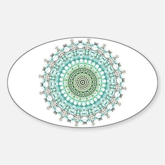 Evergreen Mandala Pattern Decal