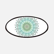 Evergreen Mandala Pattern Patches