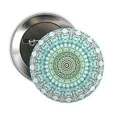"""Evergreen Mandala Pattern 2.25"""" Button"""