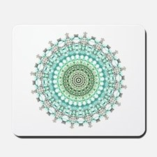 Evergreen Mandala Pattern Mousepad