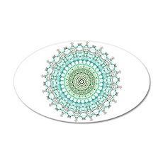 Evergreen Mandala Pattern Wall Sticker