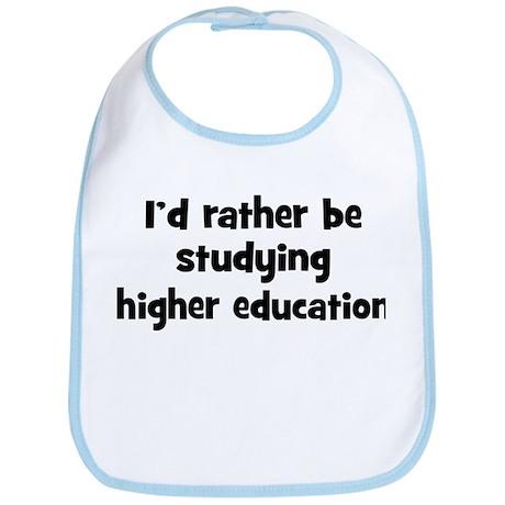 Study higher education Bib