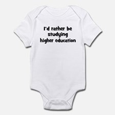 Study higher education Infant Bodysuit