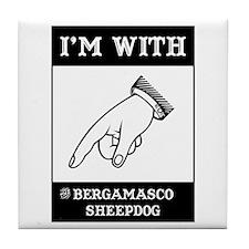 With the Bergamasco Tile Coaster