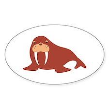 Walrus Animal Decal