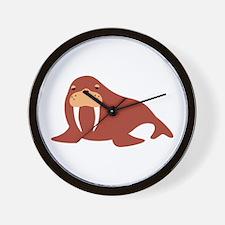 Walrus Animal Wall Clock