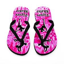Pink Skating Flip Flops