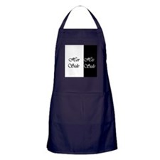Her Side His Side Apron (dark)
