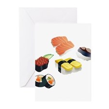 Sushi Greeting Cards