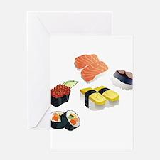 Sushi Greeting Cards