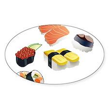 Sushi Decal