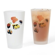 Sushi Drinking Glass