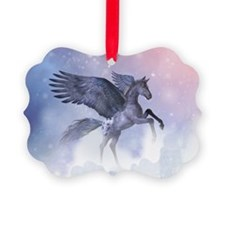 Flying Pony Ornament