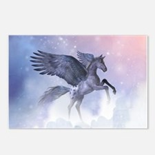Flying Pony Postcards (Package of 8)