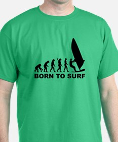 Evolution Windsurfing Born to surf T-Shirt
