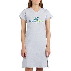 Ocean Doctor Logo Women's Nightshirt