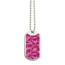Pink Camo; Camouflage 1 Dog Tags