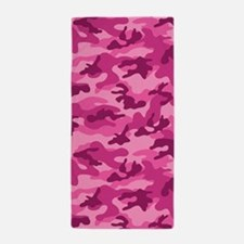 Pink Camo; Camouflage 1 Beach Towel