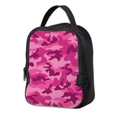 Pink Camo; Camouflage 2 Neoprene Lunch Bag