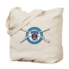 10th Mountain Muskets Tote Bag