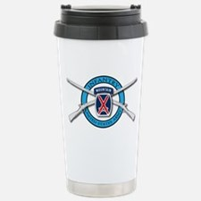 10th Mountain Muskets Stainless Steel Travel Mug