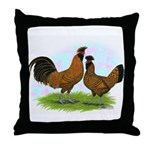 Gold Brabanters2 Throw Pillow