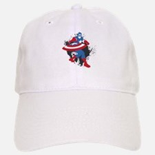 Baseball Baseball Captain America Minimalist Baseball Baseball Cap