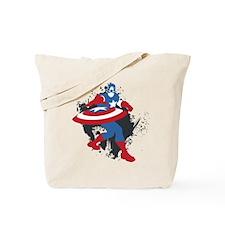 Captain America Minimalist Tote Bag