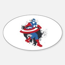 Captain America Minimalist Decal