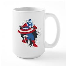 Captain America Minimalist Mug