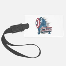 Captain America Vintage Luggage Tag