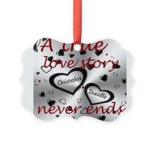 True Love Story Ornament