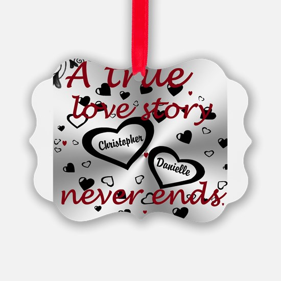 True Love Story Ornament