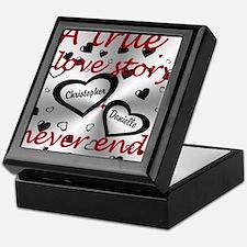 True Love Story Keepsake Box
