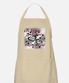 True Love Story Apron