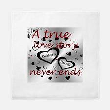 True Love Story Queen Duvet