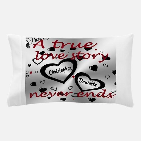 True Love Story Pillow Case