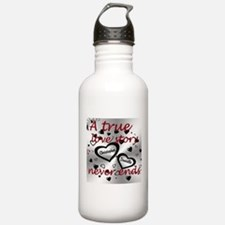 True Love Story Water Bottle