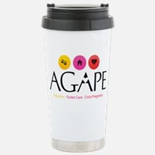 Agape - Connecting the  Stainless Steel Travel Mug